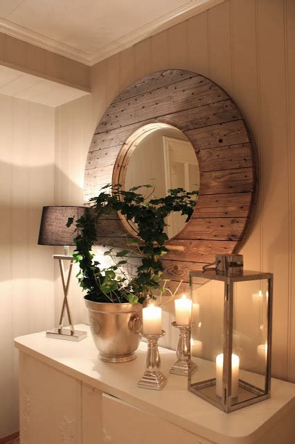 diy rustic mirror rustic wood mirror home decorating diy