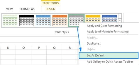 change table style excel how to change excel table styles and remove table formatting