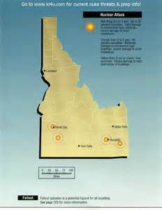 us fallout shelter map nuclear war fallout shelter survival info for idaho with