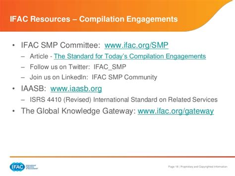 Compilation Report Engagement Letter ifac guide to compilation engagements