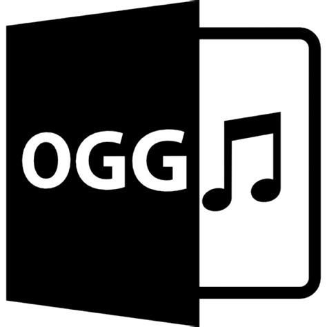 format audio ogg ogg audio file format symbol icons free download