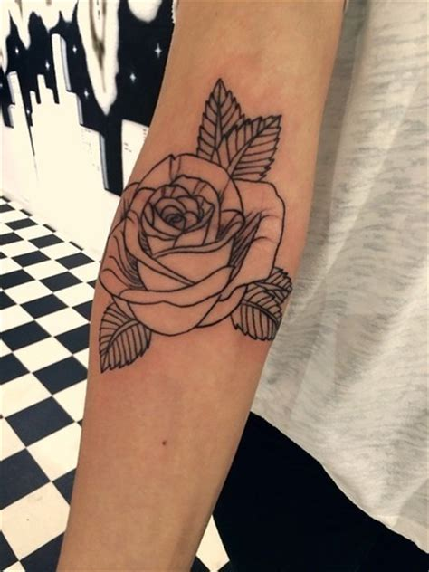 roses tattoo tumblr outlines
