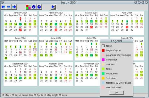 Calendario Hormonal Cycle Calendario Para Taringa