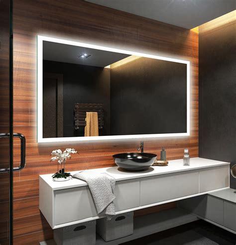 badezimmerspiegel mit led beleuchtung eco badspiegel mit led beleuchtung wandspiegel