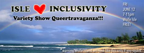 are you in or are you out inclusivity and exclusivity of table manners books i inclusivity variety show queertravaganza saturday