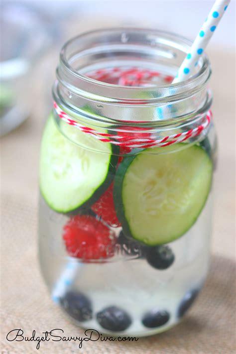Berry Detox Water by Berry Flush Detox Recipe Budget Savvy