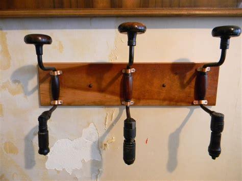 Handmade Coat Rack - handmade vintage drill coat rack diy
