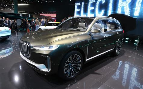 Pictures Of New Bmws by Frankfurt In Pictures New Bmw X7 Concept Autocar