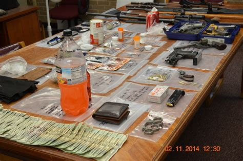 Mobile County Warrants Search Mcso Arrest Five For Drugs Guns And Stolen Property