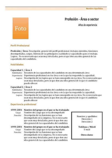 Modelo De Curriculum Vitae Tradicional Chileno Curr 237 Culum Vitae Modelo 1 Tienda De Curriculum Vitae
