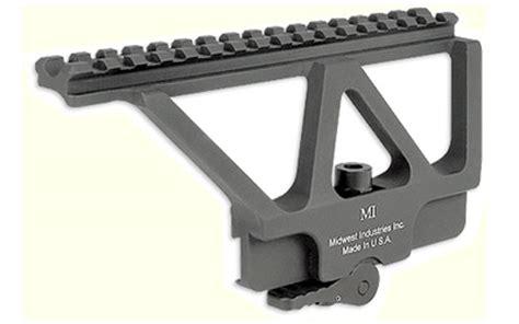midwest ak railed scope mount w/ adm