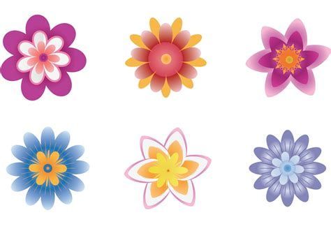 Flower Vector polynesian flower vector free vector stock