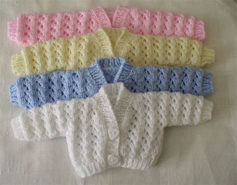 preemie baby clothes knitting 1000 images about baby matinee jackets on