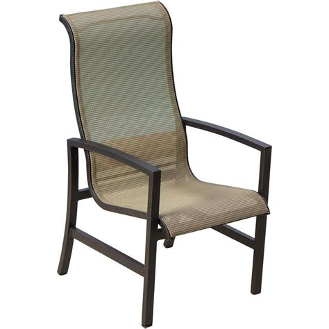 acadia sling patio dining chair by lakeview outdoor