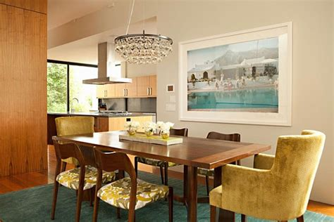 teal dining room vivid interior color combinations for the modern home