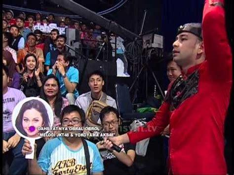 Kaos Rcti dahsyatnya obral obrol kaos akb 48 dan jaket melodi