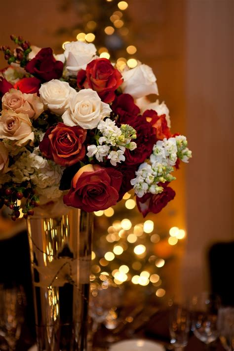 flora nova design  blog  romantic december wedding
