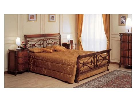 double bed wooden headboard wooden bed handmade for classic room furnishing idfdesign
