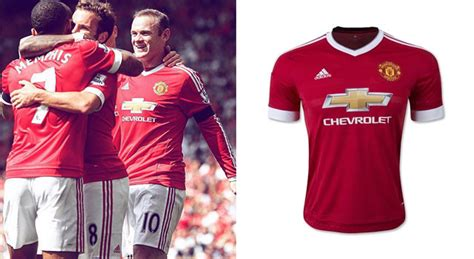 utd colors story manchester united s jersey colors soccer365
