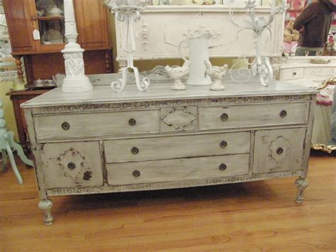 Distressed Buffet Table by Antique Buffet Flat Screen Tv Media Unit Gray