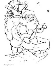 santa claus pictures to color santa coloring pages 2017