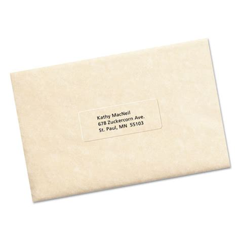 avery template 5630 avery 5630 clear easy peel mailing labels laser 1 x 2 5
