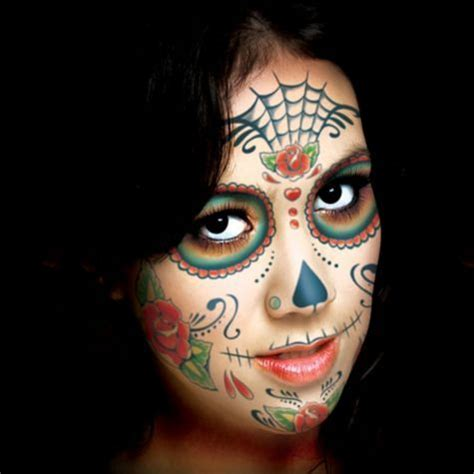 temporary face tattoos halloween 17 best ideas about skull on