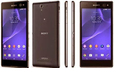 Dan Spesifikasi Hp Sony Android Kitkat spesifikasi dan harga hp sony xperia c3 android kitkat murah info harga smartphone