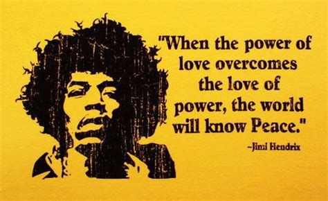 when the power of love overcomes the love of power the