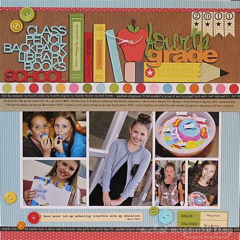 scrapbook layout for school picture the 168 best images about school scrapbook pages on