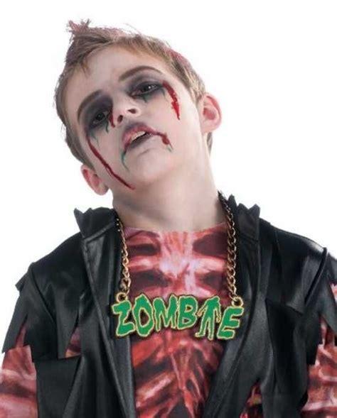 imagenes de zombies para halloween para niños 8 best maquillaje halloween para ni 241 os images on pinterest