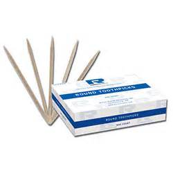 royal paper rpp r820 round wooden toothpicks toothpicks straw stirrer skewer picks food service