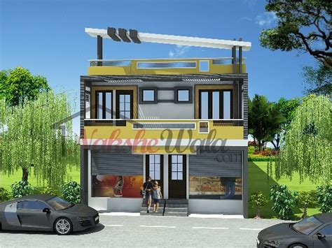 residential commercial elevation 3d front view design amazing decors