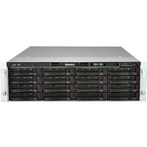 bosch divar bosch divar ip 6000 series 128 channel nvr dip 61f4 16hd b h