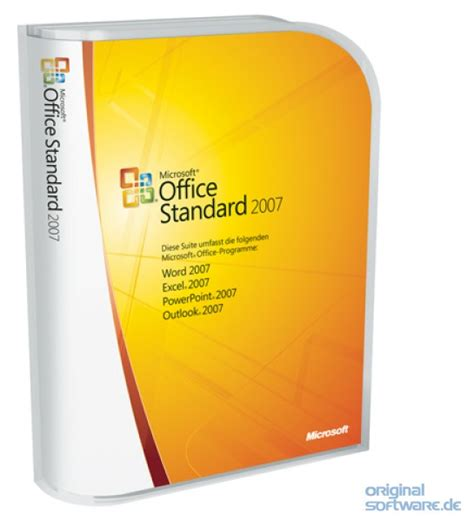Cd Microsoft Office 2007 Original microsoft office standard 2007 cd retail box