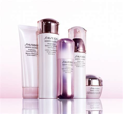 Shiseido White Lucent shiseido cosmetics collection