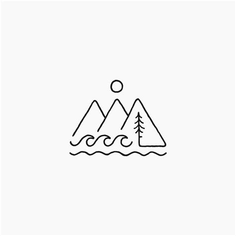 simple tattoo logo 25 best ideas about pacific northwest on pinterest nw