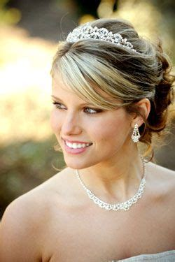 hair style poofed up in back of crown 65 best tiara hairstyles images on pinterest
