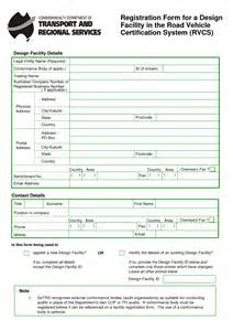 design form registration registration form design