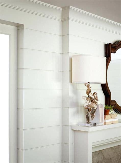 image result  installing shiplap  crown moulding