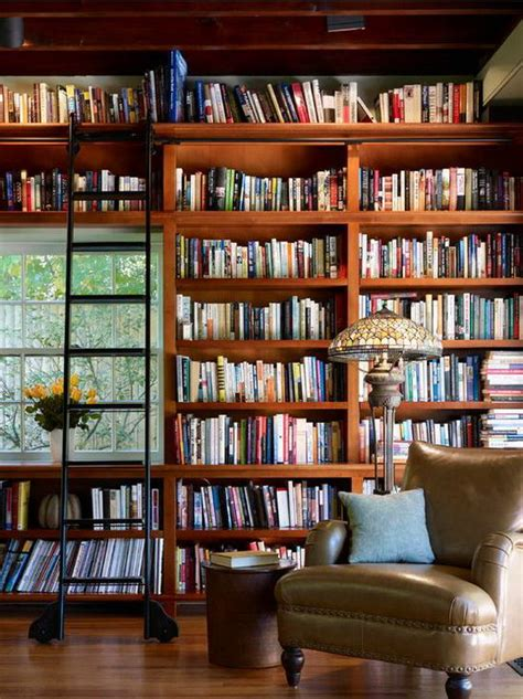 beautiful  cozy home library ideas design swan