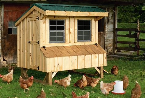 Handcrafted Chicken Coops - handmade amish chicken coop barn hosue in oneonta ny