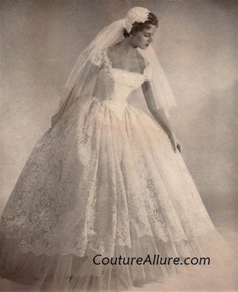 vintage 1950s wedding dresses couture vintage fashion how to find the vintage