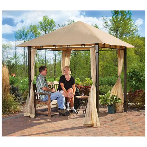 gazebo 8x8 8x8 patio canopy gazebo new 8x8ft 8 x 8 8x8 ft outdoor