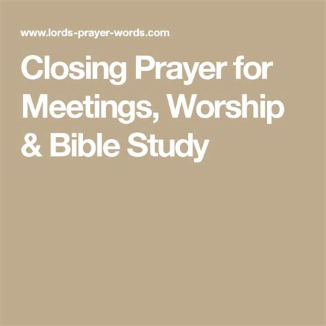Closing Letter Blessings The 25 Best Closing Prayer Ideas On Prayer For My Poems And