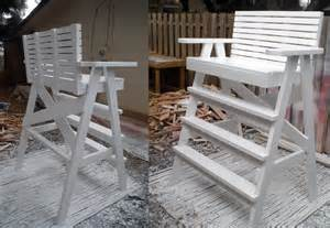 lifeguard chair plans image mag