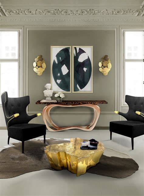 mod home decor living room decorating ideas modern console tables to