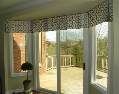 doors windows bay window treatment ideas with various 25 best ideas about sliding door treatment on pinterest