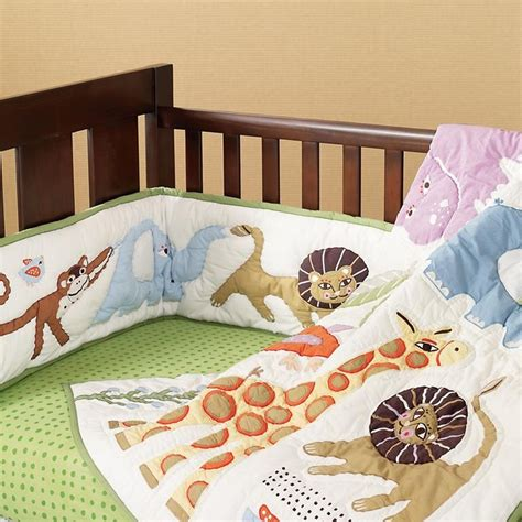 The Land Of Nod Safari Baby Bedding Baby Boy Nursery Safari Crib Bedding