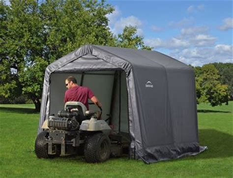 Lawn Tractor Shed by Lawn Mower Storage Sheds Essentials To Protect